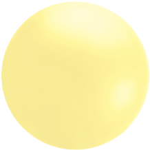 Giant Cloudbuster Balloon - 5.5ft Pastel Yellow
